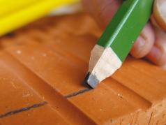 Steinhauerbleistift, Steinmetzstift, Steinmetzbleistift, Lack-Marker, Lackmarker, Paint-Marker, Lackmalstift
