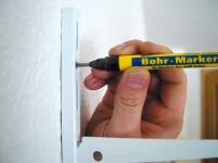 Bohrlochmarker, Tiefloch-Marker, Montage-Marker