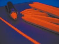Lumineszenzkreide, lumineszierende Kreide